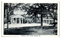 Georgia Hall, Warm Springs, GA Postcard *265