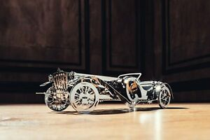 Time for Machine Mechanical Metal 3D Puzzle GLORIOUS CABRIO Model for assembly