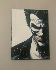New ListingJoker Arkham Comic 18x24 Pop Art Painting Chris Cargill