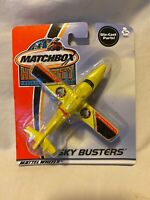 Matchbox Sky Busters Die Cast Yellow Mission Base F5  Amphibian Plane