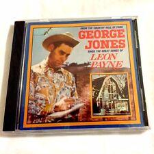 Brand NEW CD - - George Jones Sings the Great Songs of Leon Payne - - CD