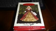 Hallmark Keepsake Ornament Holiday Barbie Collector'S Series 1996