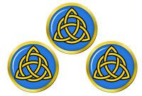 Trinity Nœud Chrétien Marqueurs de Balles de Golf