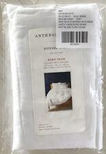 NIP Anthropologie 'Stitched Linen' White Euro Sham, OS