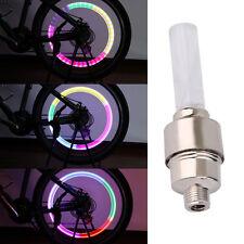 (1) SINGLE LED CAP Valve Wheel Tire Bicycle Bike car Light Spoke Lamp Motorcycle
