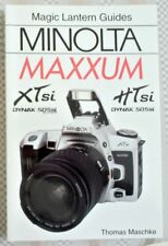 MINOLTA MAXXUM XTsi/HTsi & DYNAX 505si 35mm SLR CAMERA USERS GUIDE MANUAL