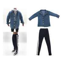 1 Set 1/6 Scale Clothing outfit Shirt & Pants for 12inch Hot Toys Cosplay