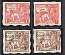 Mint Never Hinged/MNH Mute Cancellation British Stamps