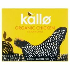 Kallo Poulet Stock Cubes-Organic - 66 g x 15 - 81236