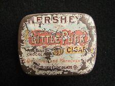 Hershey Chocolate Company Delicious & Harmless Little Puck Cigars Chocolates Tin