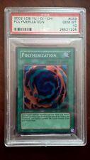 Yugioh 2002 PSA 10 Polymerization LOB-059 Super Rare Legend Blue Eyes Gem Mint