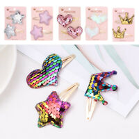 Sequin Hair Accessories Hairpins Metal Barrettes Hair Clips Small Printing