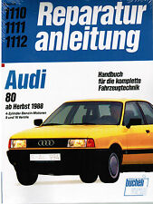 Manuale Riparazione Libro Audi 80 dall'autunno 1988 motori a 4 cilindri benzina