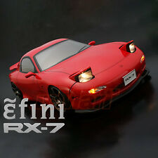 ABC Hobby Mazda efini RX-7 FD3S Early Ver 196mm Clear Body Set EP RC Cars #66157