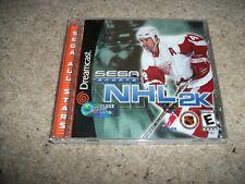 Sega Deportes NHL 2K-Sega Dreamcast (NTSC/U) Nuevo Y Sellado (US) Raro