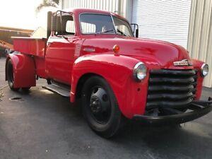 Custom Build 1950 Chevrolet Five Window with hydraulic dump bed