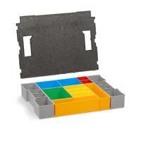 Bosch Sortimo Insetboxen-Set H3 für L-Boxx inkl. Deckelpolster