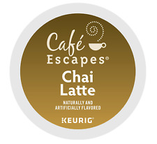 Cafe Escapes Chai Latte Keurig K-Cups 24 Count - FREE SHIPPING