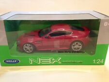 Aston Martin V12 Vantage Red Welly 24017 1:24 Scale New