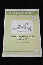 Age Plan - Avion, Modèle, Bö-se 9 - M1 : 1 - 170cm Envergure