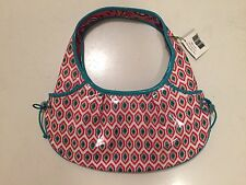 Vera Bradley Frill Tied Together Hobo Bag - Call Me Coral - New NWT!