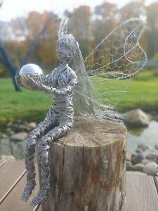Wire Fairy Sculpture