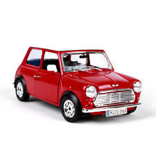 BBURAGO Diecast Model 1:24 Scale 1969 Mini Cooper Car Bus Model Toys Gifts Red