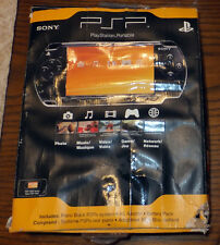 Rare Sony PSP-2000 launch edition piano black BNIB