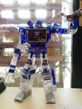 "Transformers MP-13 Soundwave Action Figure 9"" Transparent Editon Without Package"