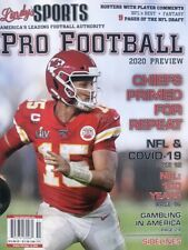 LINDY'S SPORTS 2020 NFL PRO FOOTBALL MAGAZINE GUIDE NEW PATRICK MAHOMES CHIEFS