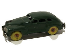 RARE VINTAGE GREEN ORIGINAL 1940's TIN FRICTION CAR MADE IN OCCUPIED JAPAN NICE!