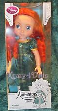 "Disney Animators' Collection 16"" Toddler Doll Princess Merida Green Dress New!"