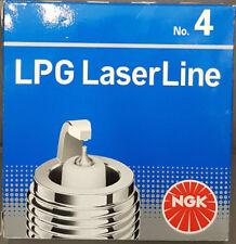 4x Ngk LPG N º . 4 Bujías Laserline 1511 Lpg4 FORD #
