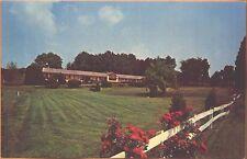 c1960s Piedmont Motel US 15 Leesburg VA postcard view