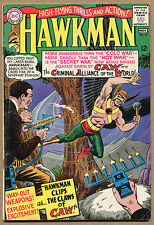 Hawkman #10 - Hawkman Clips the Claws of CAW! - 1965 (Grade 5.5) WH