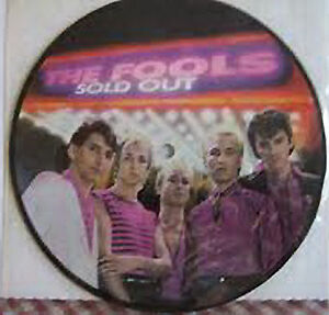 The Fools, Sold Out, NEW/MINT RARE U.S. promo PICTURE DISC 7 inch single