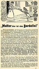 Bruno Schmidt Bremen BARDELLA VERBANDMITTEL Historische Reklame von 1915