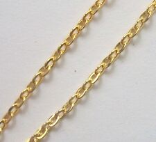 Gold plated chain, 32 ft open links cable chain 3x2.5mm for jewelry making (599)