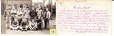 Soldats Français Carte aux parents Grande Guerre photo sur CPA lot127