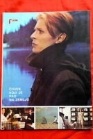 DAVID BOWIE ON BACK COVER 1977 RARE EXYU MAGAZINE