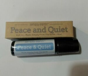 Simply Earth Peace and Quiet 100% Pure Essential Oil Blend 10ml Roll On - Sealed