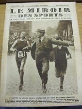 28/08/1928 le MIROIR DES SPORTS MAGAZINE: numero: 445, il contenuto da includere, TOUR