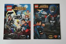 2 Lego Super Heroes DC Comics NEU