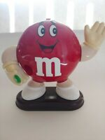 VINTAGE Rare M&M MR. RED Candy Dispenser 1991 Working Good Condition MARS CORP.