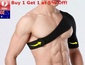 Adjustable Shoulder Support Brace Protector Strap Wrap Bandage Sports Arthritis