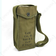 US Thompson SMG 30rd Mag. Stick Carrier - WW2 Repro American Bag Ammo Pack Army