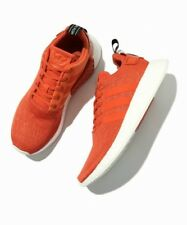 Adidas NMD R2 PK Nomad Orange Red White Boost Shoes Sneakers BY9915 Mens Sz 9.5