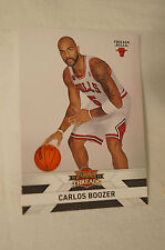 NBA CARD - Panini - Threads Series - Carlos Boozer - Chicago Bulls