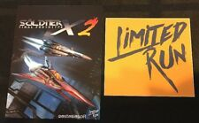 Soldner X-2 Final Prototype Limited Run Games Post Card + Sticker - Rare