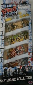 Street Trix Skateboard collection x4&tools included. Brand New